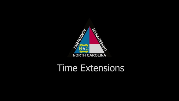 NCEM - Time Extension Tutorial