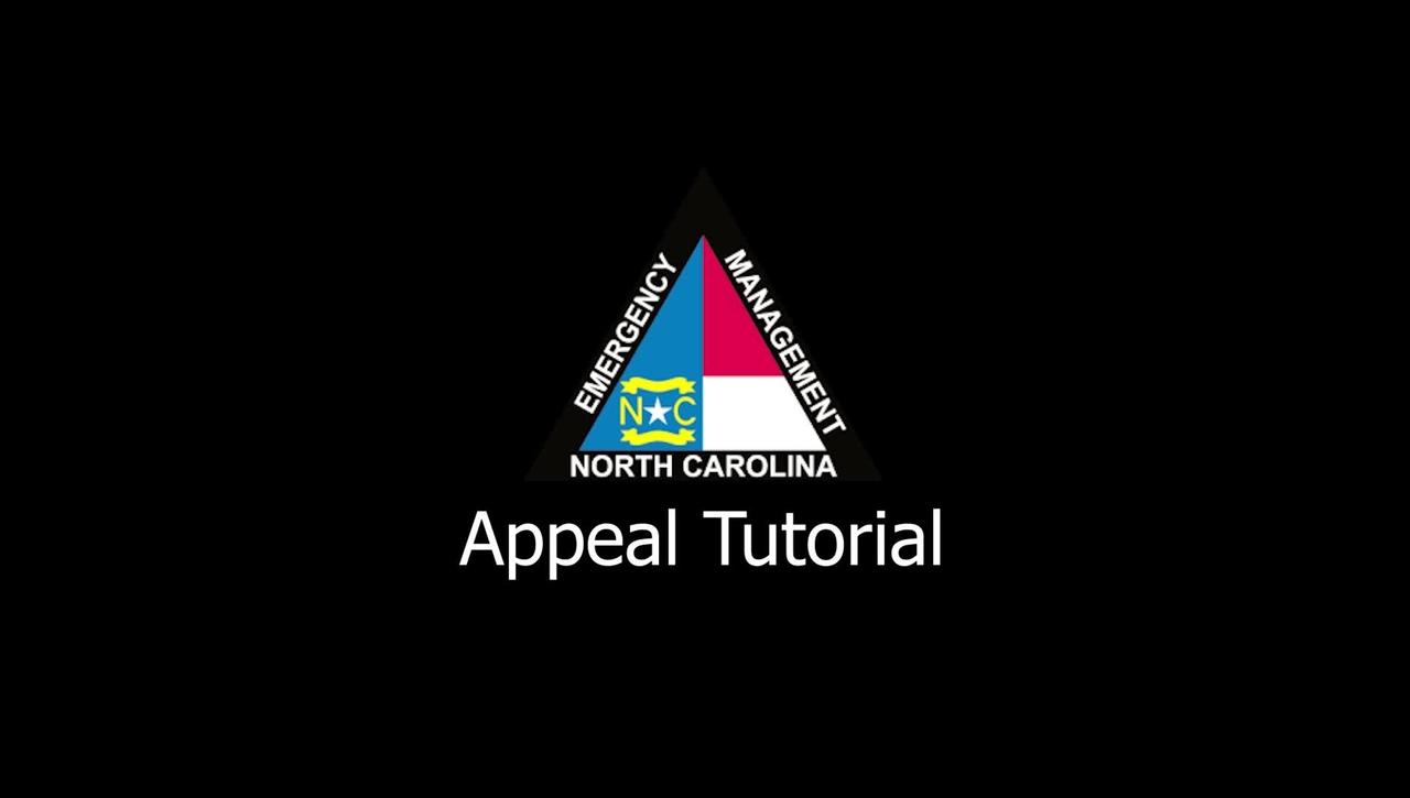 NCEM - Appeal Tutorial