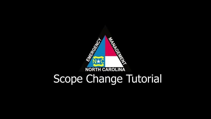 NCEM - Scope Change Tutorial