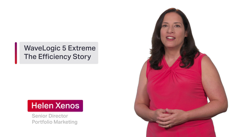 Thumbnail for entry Chalk Talk: WaveLogic 5 Extreme - The Network Efficiency Story