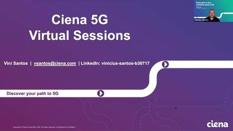 Thumbnail for entry S1P3: Como o novo xHaul em 5G afetará a infraestrutura de rede?
