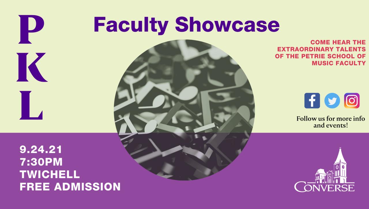 Faculty Showcase 2021