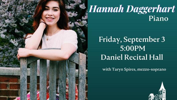 Senior Recital: Hannah Daggerhart, piano