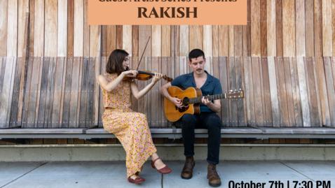Thumbnail for entry Guest Artist Series: Rakish