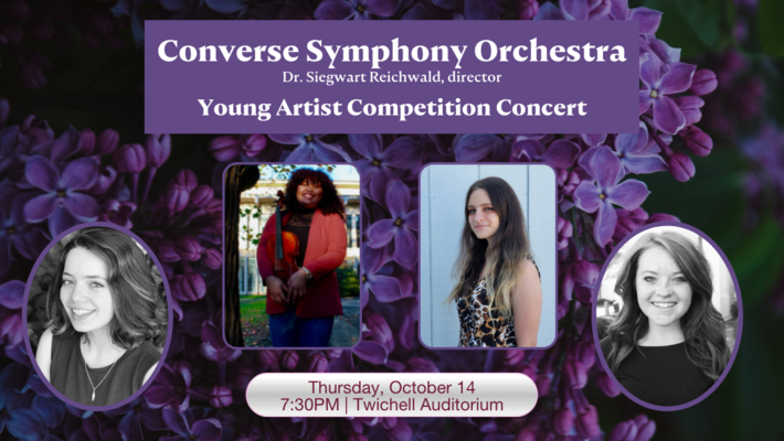 2021 Converse Symphony Orchestra Young Artist Winners Concert