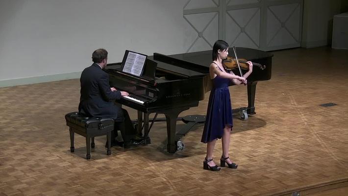 Junior Recital: Alex Campbell, violin & Graduate Ensemble Recital: Miles Hampton, trumpet