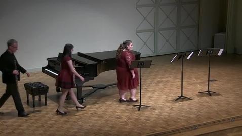 Thumbnail for entry Graduate Recital: Anna Neely, soprano