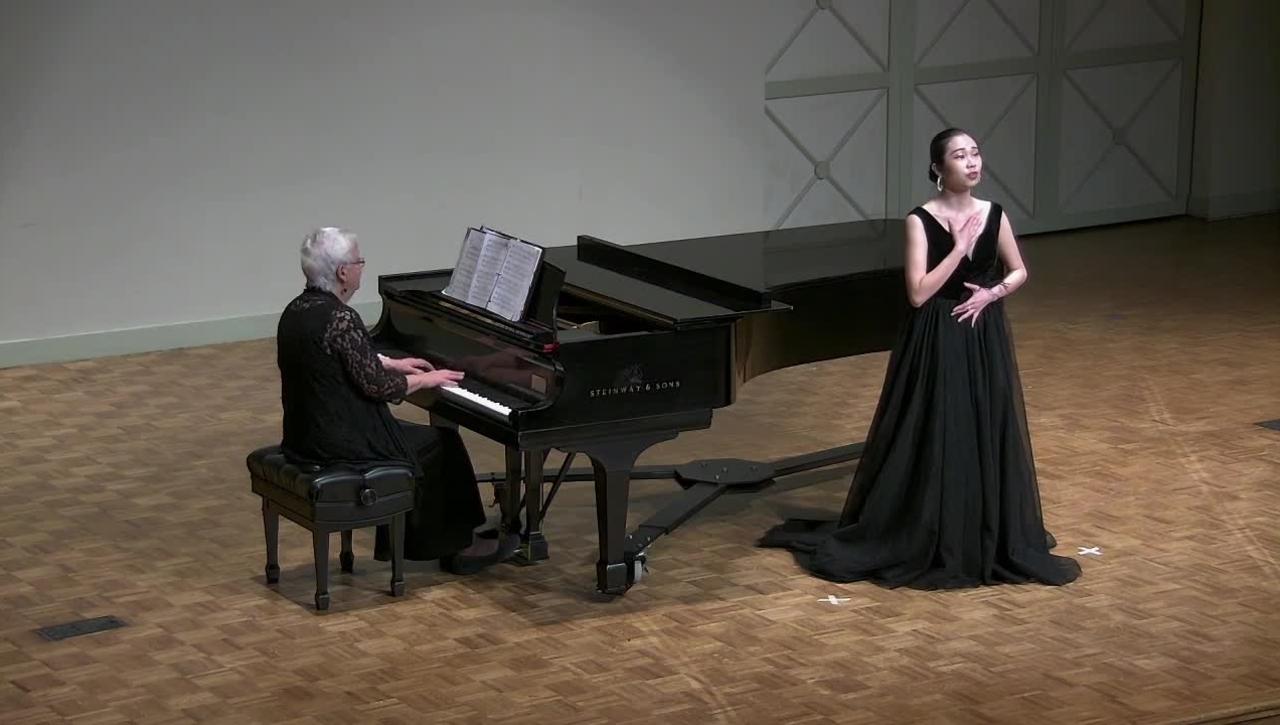 Senior Recital: Shiyi Zhong, soprano