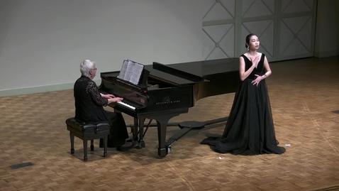 Thumbnail for entry Senior Recital: Shiyi Zhong, soprano