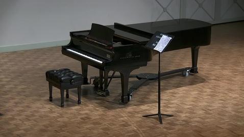 Thumbnail for entry Junior Recital: Tisha Kosmas, violin