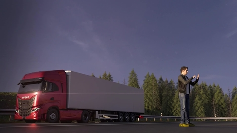 Thumbnail for entry IVECO S-WAY    Przerwa 40min.