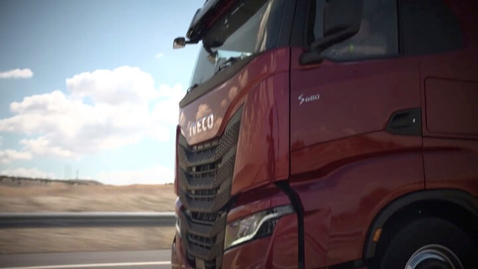Thumbnail for entry IVECO S-WAY     Wnętrze