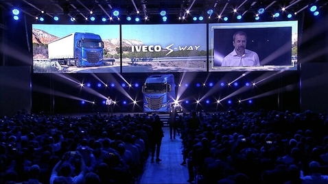 Thumbnail for entry IVECO S-WAY      Launch event