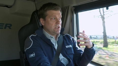 Thumbnail for entry GERRIT MARX INTERVIEW     The new IVECO heavy truck and the market