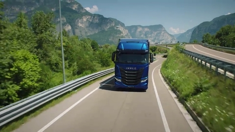 Thumbnail for entry IVECO S-WAY     Hamulec silnikowy