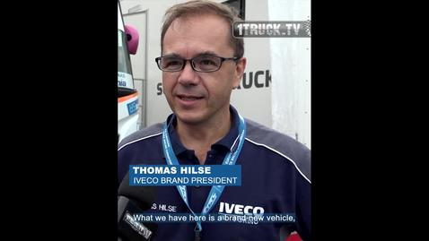 Thumbnail for entry THOMAS HILSE  INTERVIEW     IVECO S-WAY Racing world