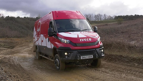Thumbnail for entry IVECO Daily 4x4      7 Tonne Van