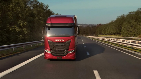 Thumbnail for entry IVECO S-WAY     La guida