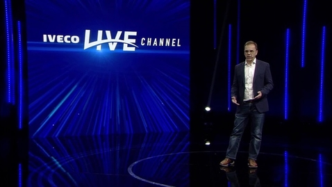 Thumbnail for entry IVECO LIVE CHANNEL     Presentation by Thomas Hilse
