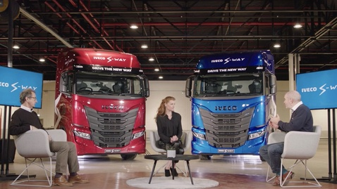 Thumbnail for entry IVECO S-WAY - RIGHT HAND DRIVE NOV 2020     UK Customer Introduction