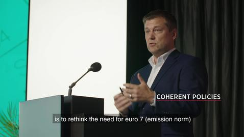 Thumbnail for entry DECARBONIZATION OF HEAVY TRANSPORT     The Role of Hydrogen