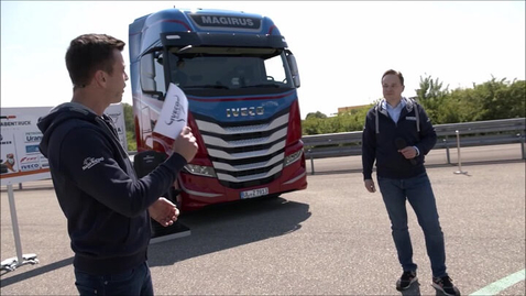 Thumbnail for entry Kick-Off IVECO Truckracing