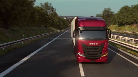 Thumbnail for entry IVECO S-WAY     Prowadzenie