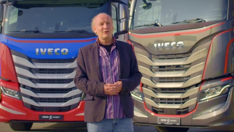 Thumbnail for entry IVECO S-WAY     Design