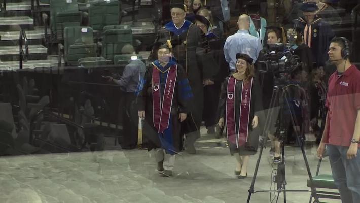 Rider University 153rd Graduate & College of Continuing Studies Commencement Ceremony