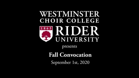Thumbnail for entry 2020-09-01 WCC Fall Convocation