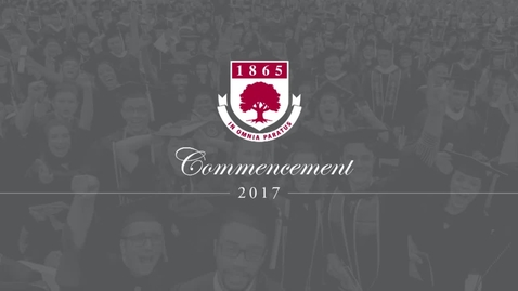 Thumbnail for entry Rider University 152nd Undergraduate Commencement Ceremony