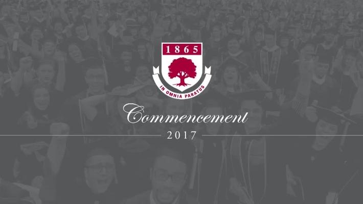Rider University 152nd Undergraduate Commencement Ceremony