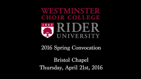 Thumbnail for entry 2016-04-21_WCC_Spring_Convocation