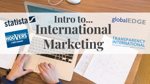 Thumbnail for entry Intro to International Marketing