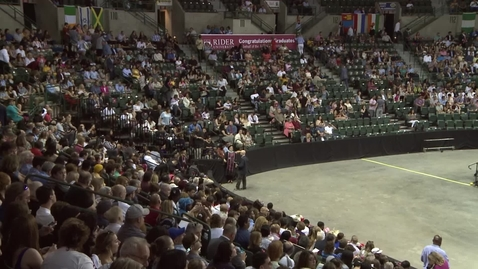 Thumbnail for entry Rider University 153rd Undergraduate Commencement Ceremony