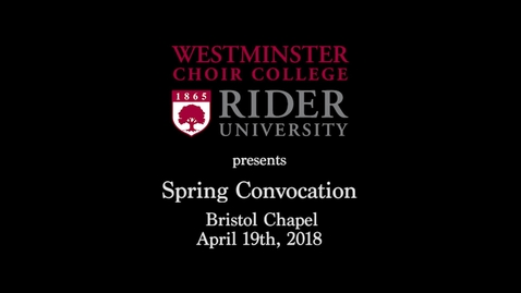 Thumbnail for entry 2018 WCC Spring Convocation