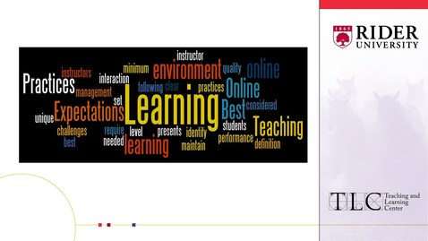 Thumbnail for entry Producing Videos for Online Classes  - Tricia Nolfi, GELC