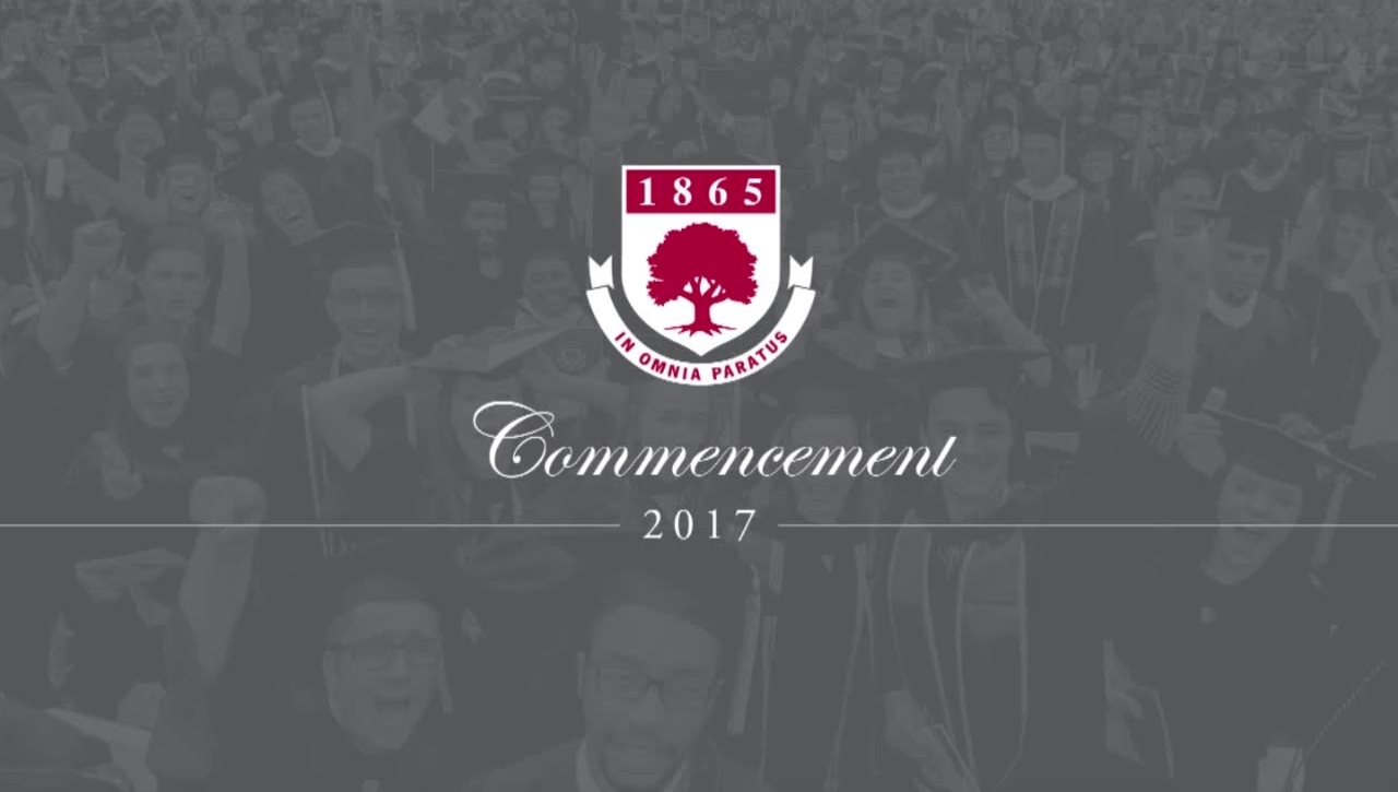 Rider University 152nd Graduate & College of Continuing Studies Commencement Ceremony