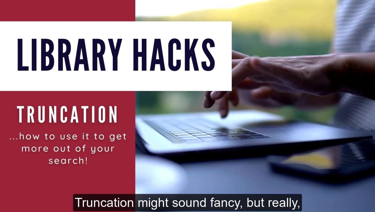 Library Hacks: Truncation