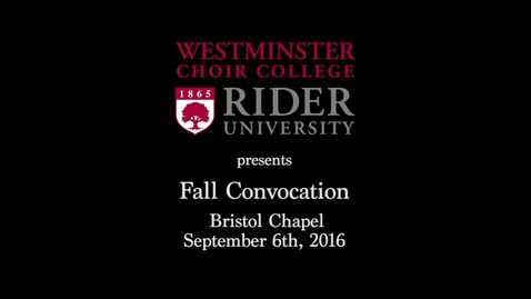 Thumbnail for entry 2016-09-06_WCC_Fall_Convocation