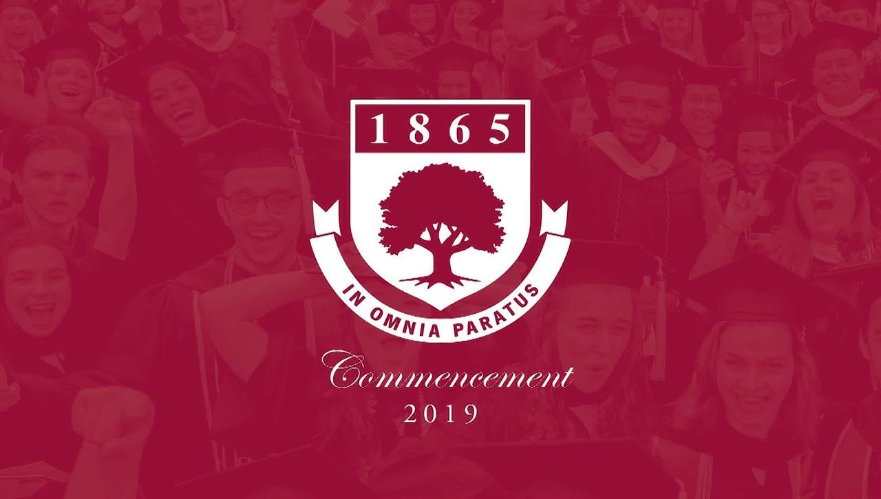 Rider University 154th Graduate & College of Continuing Studies Commencement 2019