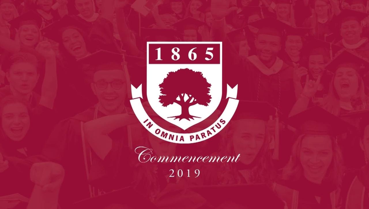 Rider University 154th Undergraduate Commencement 2019
