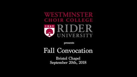 Thumbnail for entry 2018-09-04_WCC_Fall_Convocation