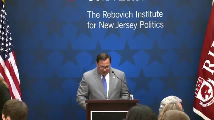 Thumbnail for channel The Rebovich Institute for NJ Politics
