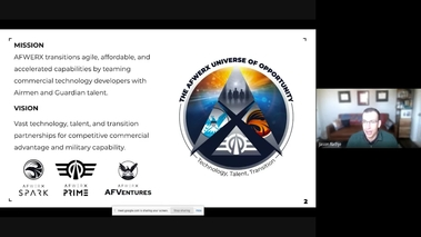 Decrypting AFWERX – Learn to Leverage Air and Space Force Funding to Solve Hard Problems and Grow Your Business [SE3065]