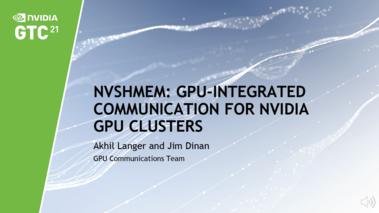 NVSHMEM: GPU-Integrated Communication for NVIDIA GPU Clusters [S32515]