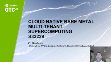 Cloud-Native Bare-Metal Multi-Tenant Supercomputing [S32229]