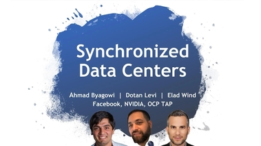 Time Synchronization in Distributed Data Centers [S31889]