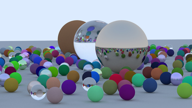 Ray Tracing in One Weekend [S32661]