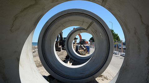Thumbnail for entry Kan store betonrør medvirke til løsning af Danmarks klimaforandringer?